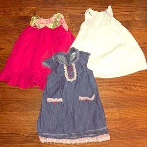 Set of 3 sweet dresses